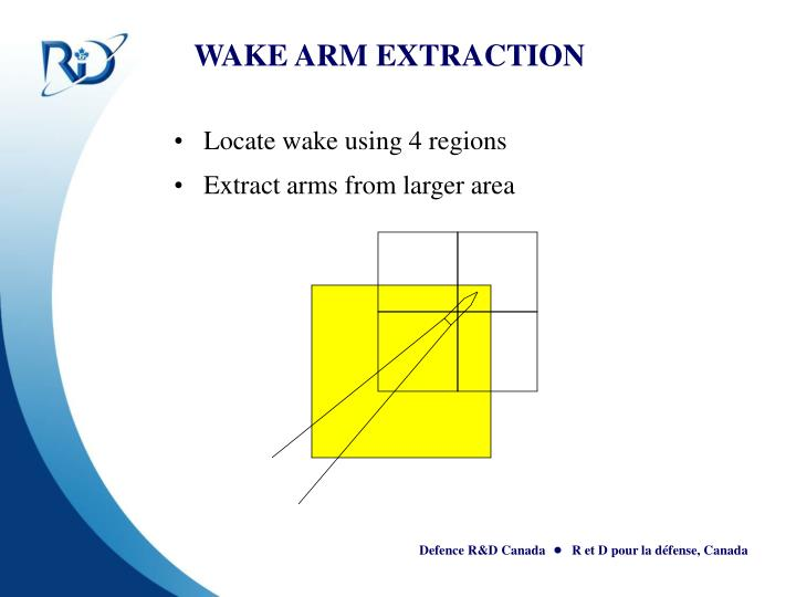 WAKE ARM EXTRACTION