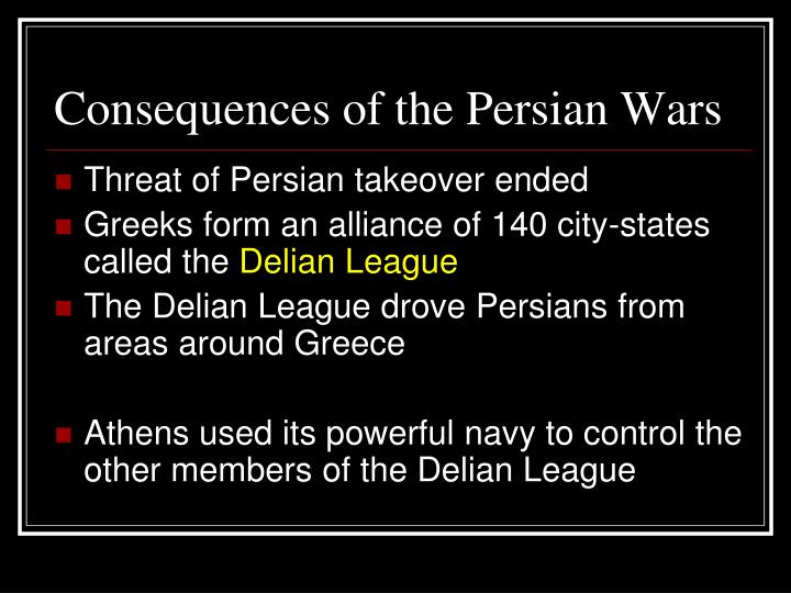Consequences of the Persian Wars