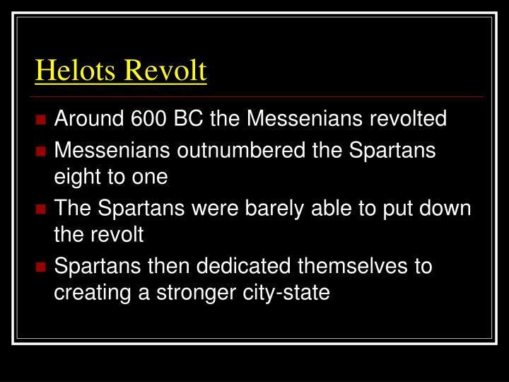 Helots Revolt