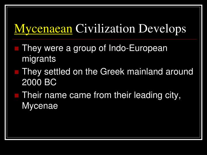 how did the minoans influence the mycenaean civilization history essay Their civilization was all about great palace complexes, the famous one at knossos historian named the civilization minoan, after the legendary king minos  essays related to minoan crete 1 the minoan society the location, geography, topography and resources of crete, greatly influenced the way the minoan society lived  crete is the.