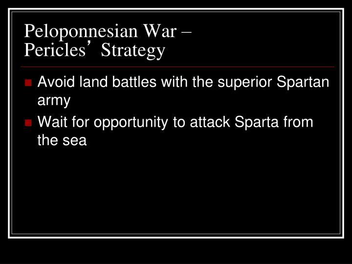 Peloponnesian War –