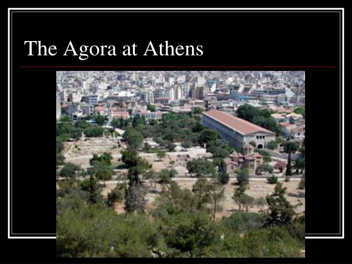 The Agora at Athens
