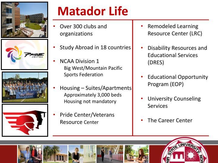 Matador Life