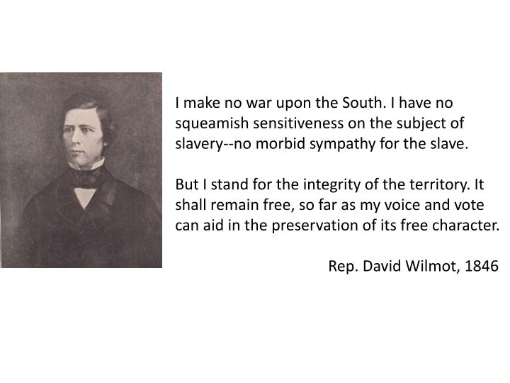 I make no war upon the South. I have no squeamish sensitiveness on the subject of slavery--no morbid sympathy for the slave.