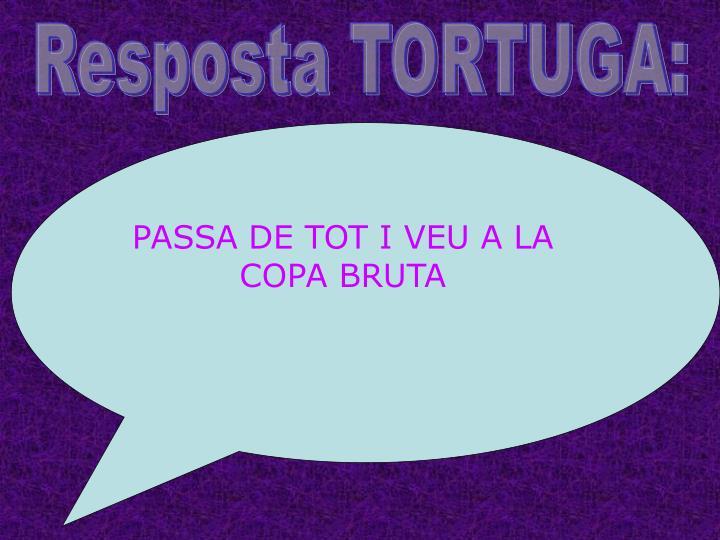 Resposta TORTUGA: