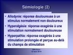 s miologie 2