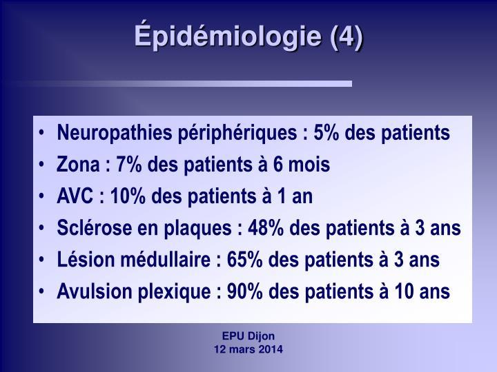 Épidémiologie (4)