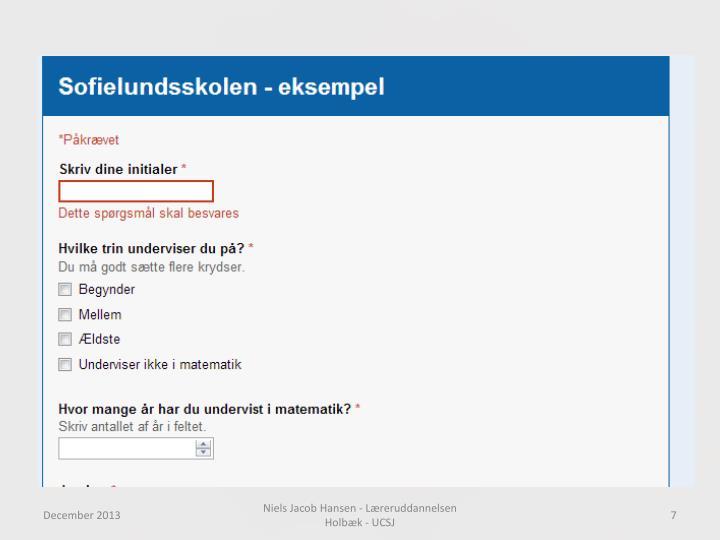 Niels Jacob Hansen - Læreruddannelsen Holbæk - UCSJ