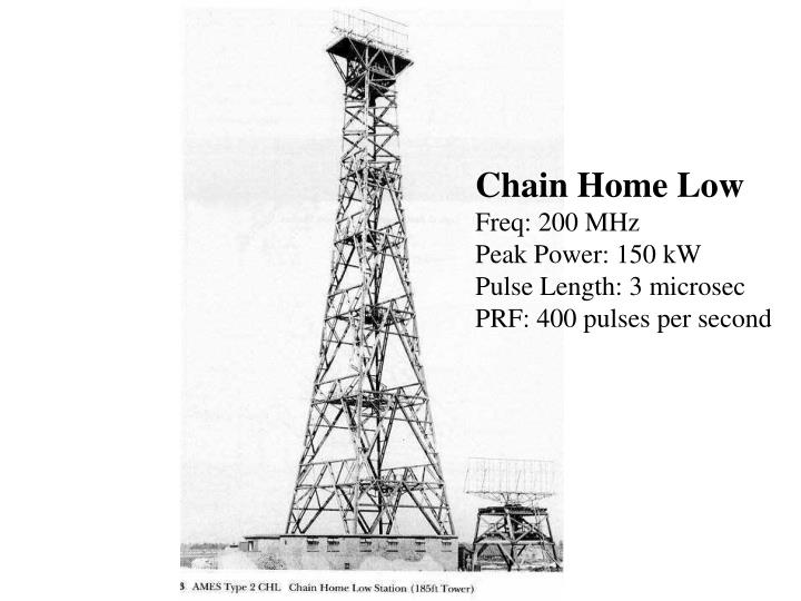 Chain Home Low