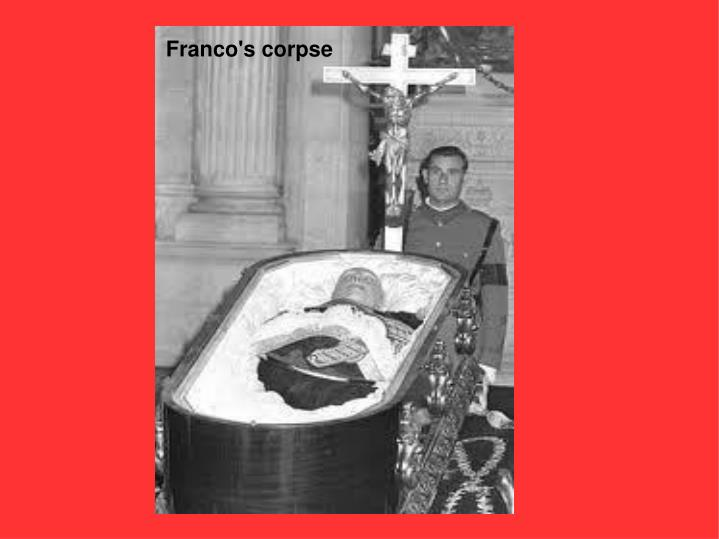 Ppt franco s dictatorship powerpoint presentation id for Chambre commerce franco allemande