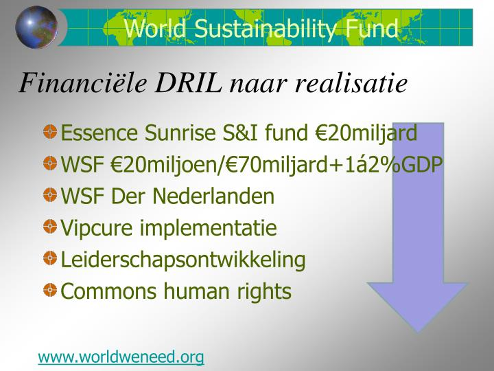 World Sustainability