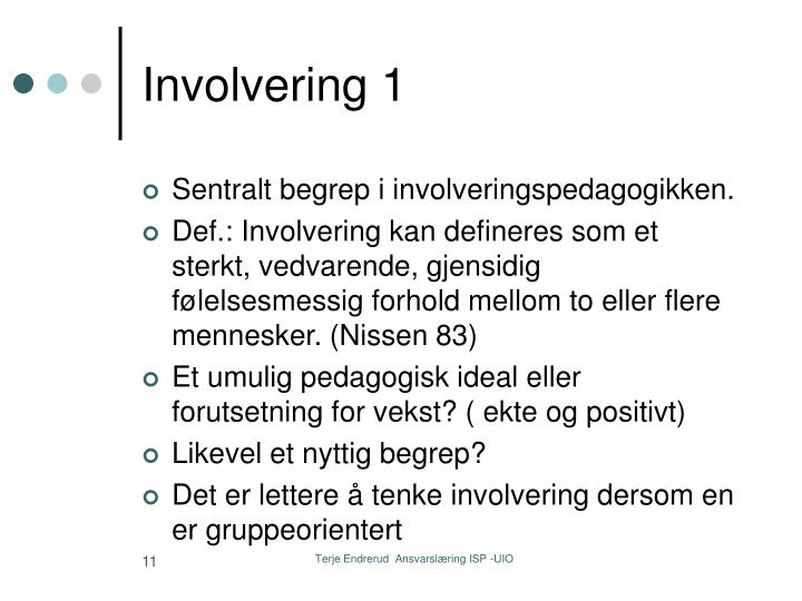 Involvering 1