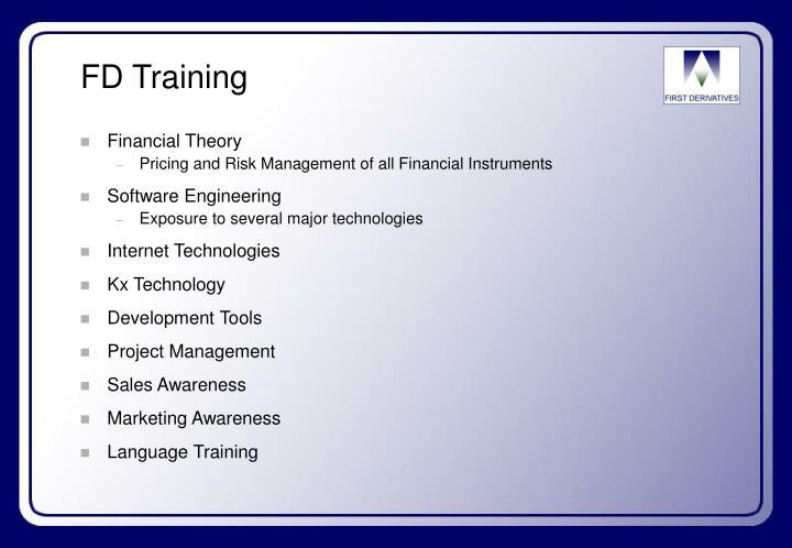 FD Training