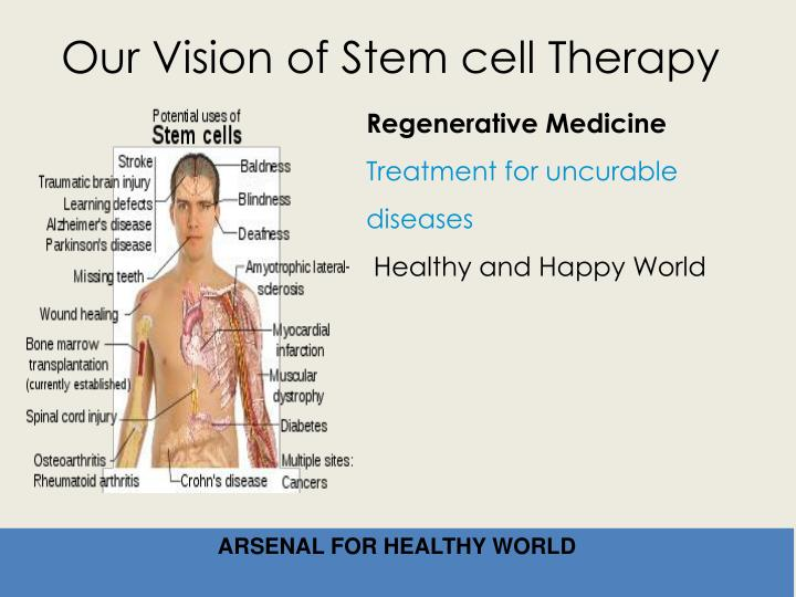 Our Vision of Stem cell Therapy