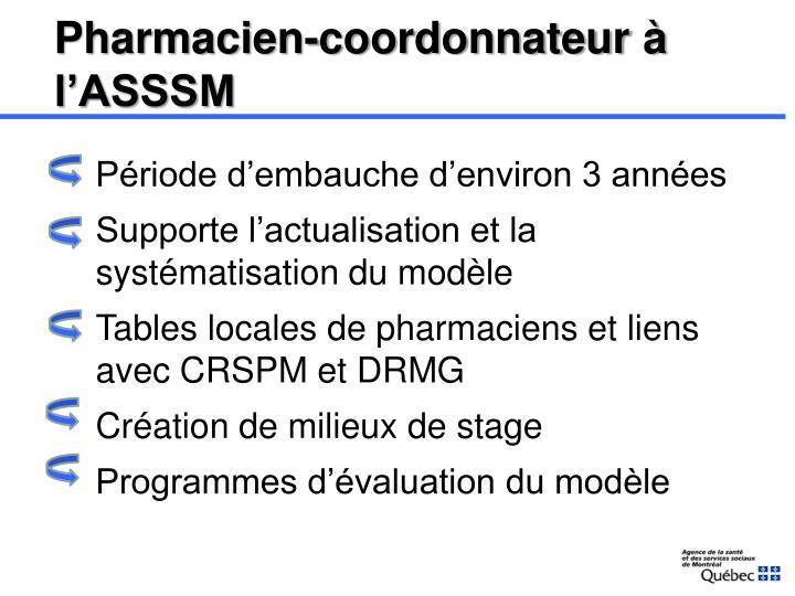 Pharmacien-coordonnateur
