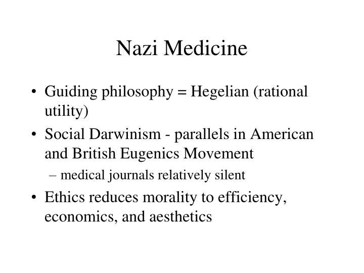 Nazi Medicine