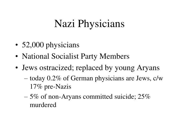 Nazi Physicians