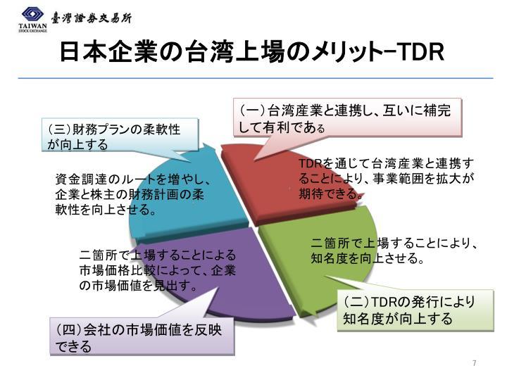 日本企業の台湾上場のメリット