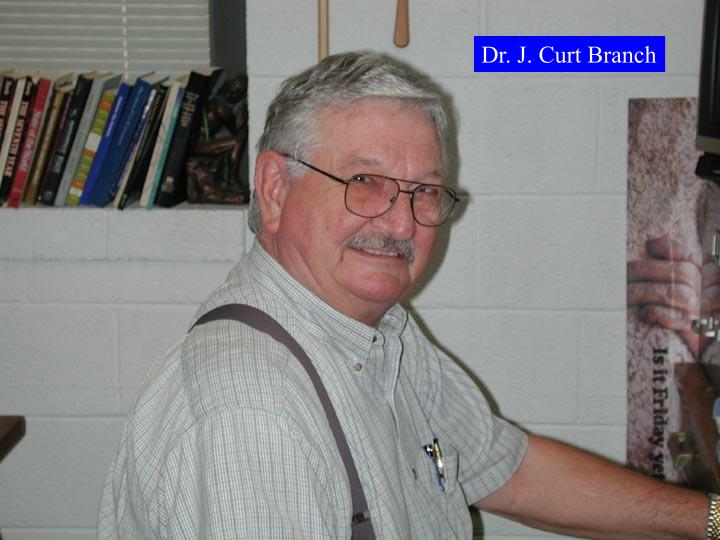 Dr. J. Curt Branch