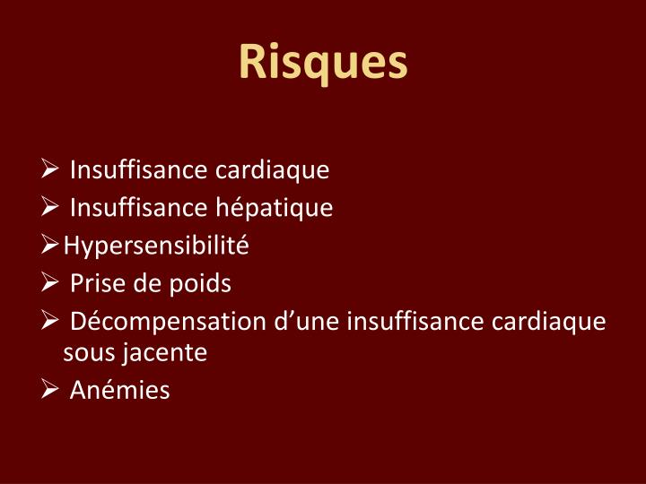 Risques