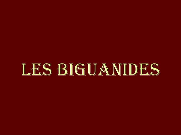 Les Biguanides