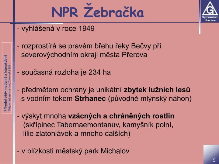 NPR Žebračka