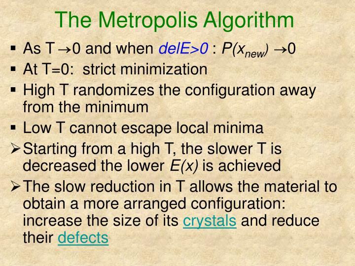 The Metropolis Algorithm