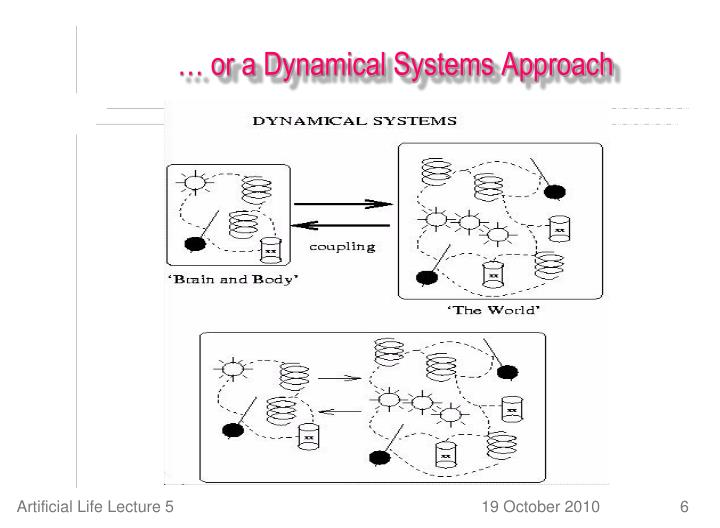 … or a Dynamical Systems Approach
