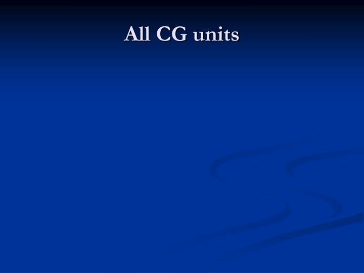 All CG units