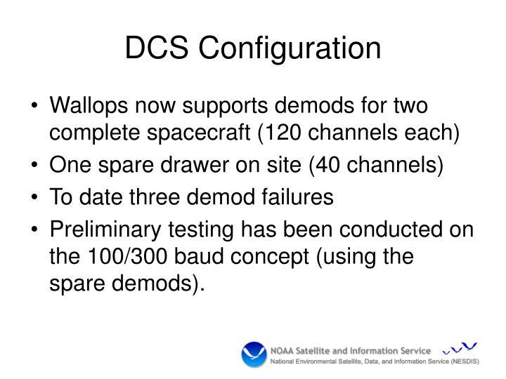 DCS Configuration