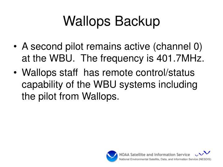 Wallops Backup