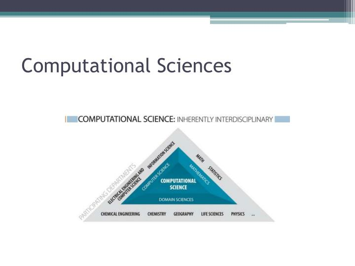 Computational Sciences