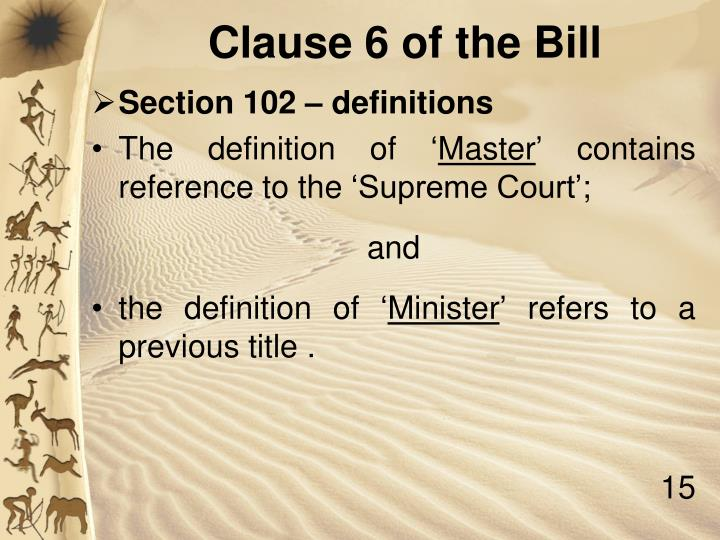 Section 102 – definitions