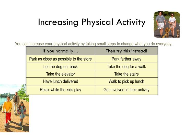Increasing Physical Activity