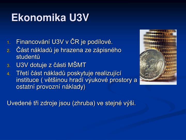 Ekonomika U3V