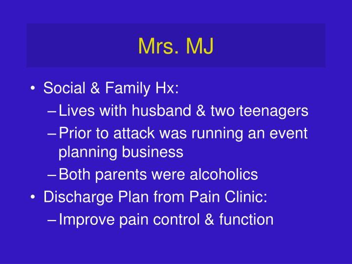 Mrs. MJ