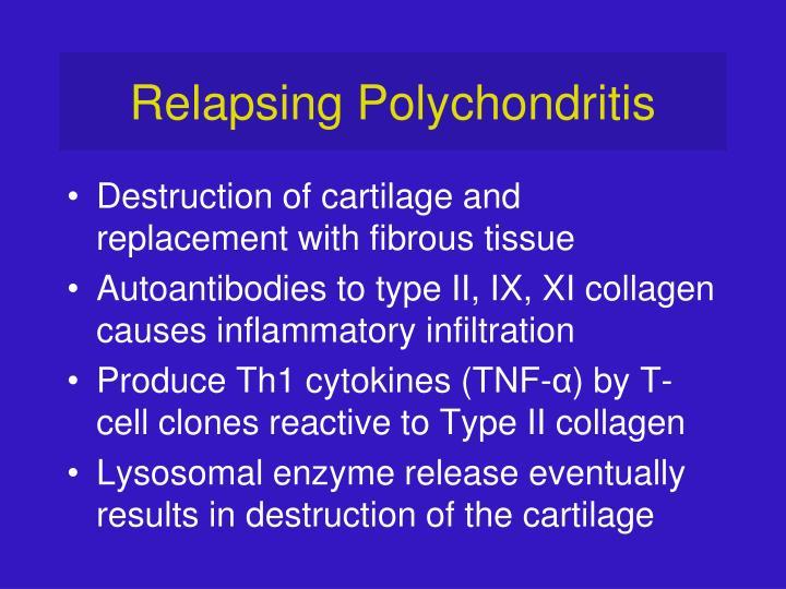 Relapsing Polychondritis