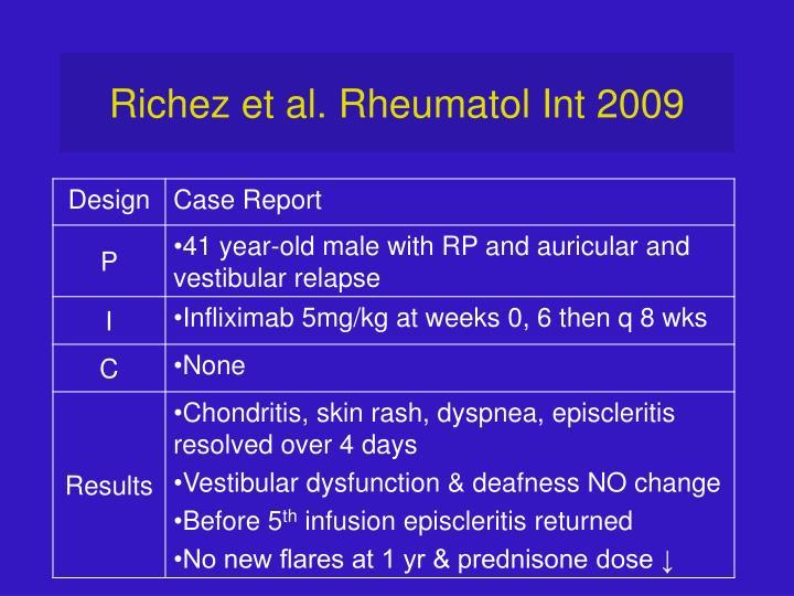 Richez et al. Rheumatol Int 2009
