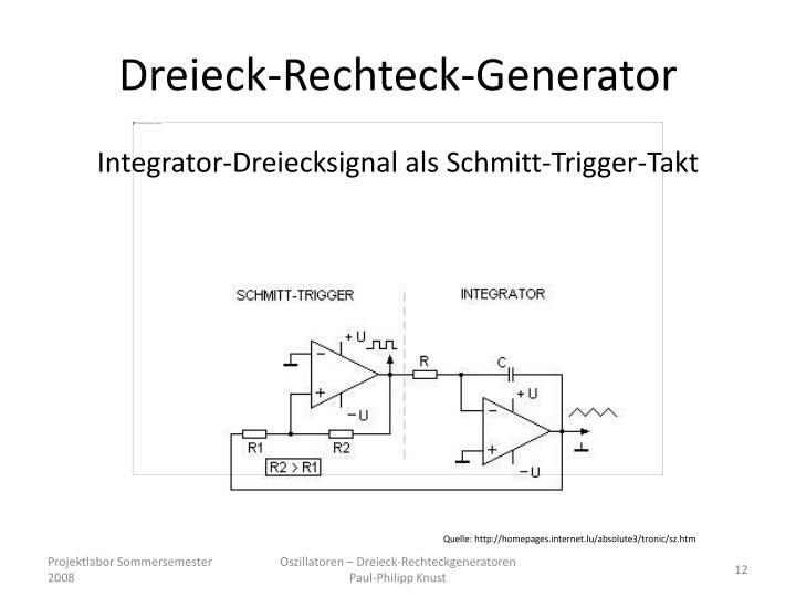 Dreieck-Rechteck-Generator