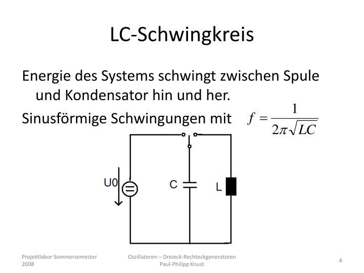 LC-Schwingkreis
