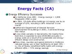 energy facts ca1