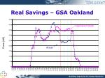 real savings gsa oakland