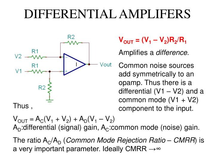 DIFFERENTIAL AMPLIFERS