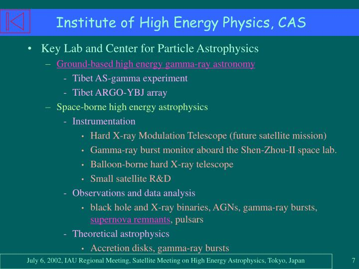 Institute of High Energy Physics, CAS