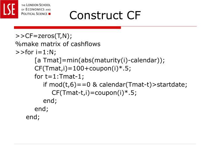 Construct CF