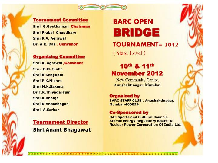 Tournament Committee