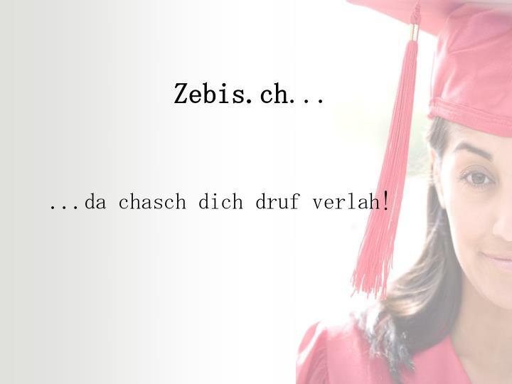 Zebis.ch