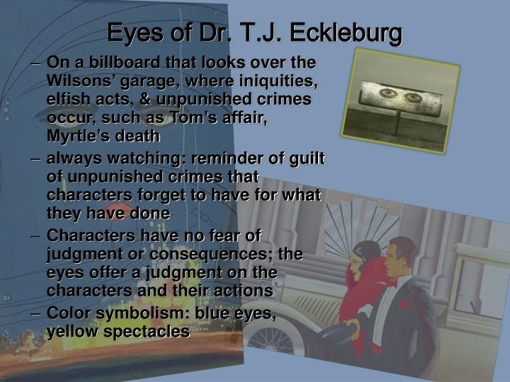 Eyes of Dr. T.J. Eckleburg