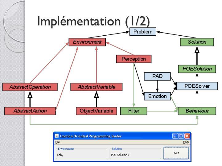 Implémentation (1/2)