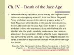 ch iv death of the jazz age3